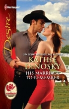 DeNosky, Kathie His Marriage to Remember
