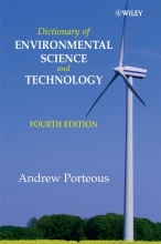 Andrew Porteous Dictionary of Environmental Science and Technology