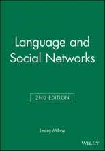 Lesley Milroy Language and Social Networks