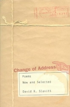 Slavitt, David R. Change of Address