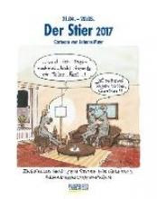 Der Stier 2017. Sternzeichen-Cartoonkalender