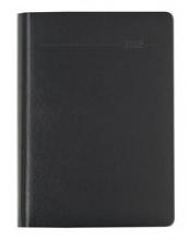Buchkalender Balacron schwarz 2018 - Bürokalender A5