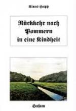 Hupp, Klaus Rckkehr nach Pommern in eine Kindheit