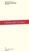 Leisten, Christoph der mond vergebens