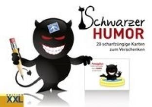 Schwarzer Humor - Geschenkkartenbuch