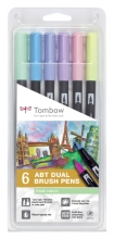 , Brushstift Tombow ABT Dual Pastel ass