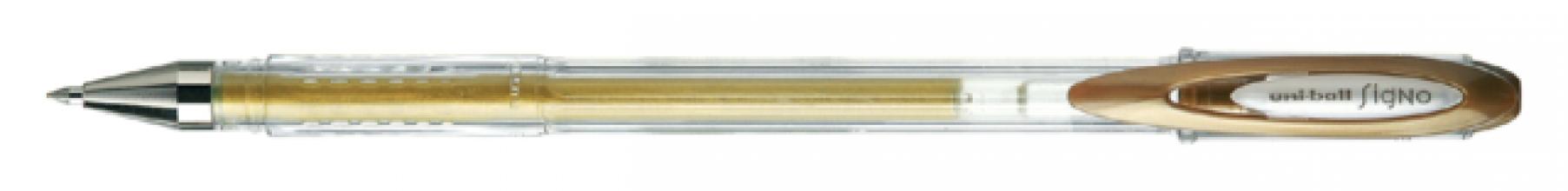 , Rollerpen Uni-ball Signo Metallises goud
