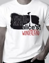 Alice`s Adventures in Wonderland T-shirt, Medium