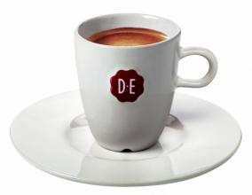 , Schotel Douwe Egberts Espresso wit