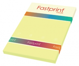 , Kopieerpapier Fastprint A4 80gr kanariegeel 100vel