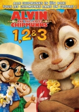 Alvin and the Chipmunks 1,2 en 3 Blu-Ray /