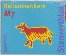 M. van der Borgh , Stenfertblok rekenmakkers groep 7 (5 ex) M7 Leerlingenboek