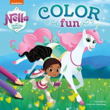 , Color Fun Nella the Princess Knight