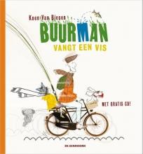 Koen van Biesen Buurman vangt een vis + cd