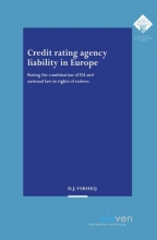D.J. Verheij , Credit rating agency liability in Europe