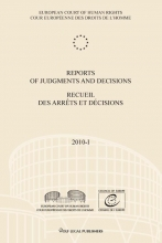 , Reports of judgments and decisions recueil des arrets et decisions 2010-1