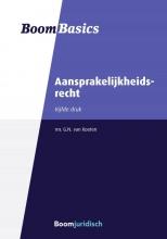 Gerarda van Kooten , Boom Basics Aansprakelijkheidsrecht