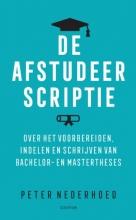 Peter Nederhoed , De afstudeerscriptie