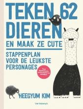 Kim Heeguym , Teken 62 dieren en maak ze cute