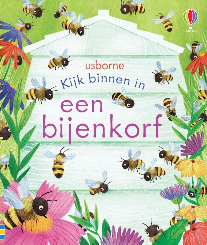 ,Kijk binnen in een bijenkorf