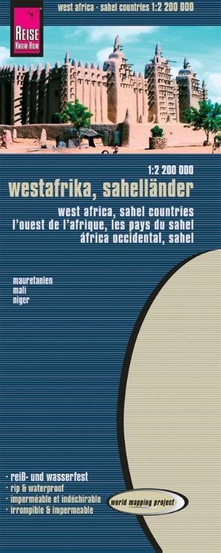,Westafrika - Sahel 1 : 2 200 000