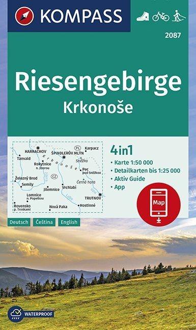 ,Riesengebirge, Krkonose 1:50 000