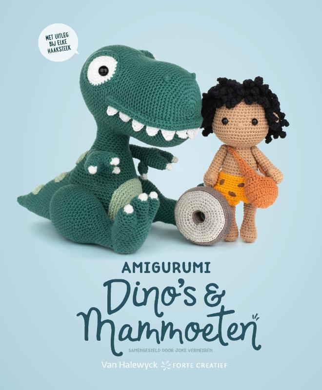 Joke Vermeiren,Amigurumi Dino`s en Mammoeten