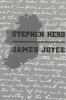 Joyce, James,Stephen Hero