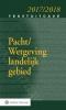 D.W.  Bruil,Tekstuitgave Pacht/Wetgeving landelijk gebied 2017/2018