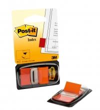 , Indextabs 3M Post-it 680 25.4x43.2mm oranje