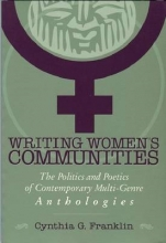 Franklin, Cynthia G. Writing Women`s Communities