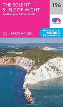 Ordnance Survey The Solent & the Isle of Wight, Southampton & Portsmouth