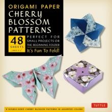 Tuttle Origami Paper Cherry Blossom Prints