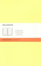 Moleskine Classic Notebook, Large, Ruled, Citron Yellow