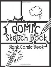 Blank Comic Books, MR Comic Sketch Book - Blank Comic Book