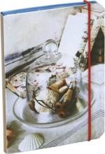 Art of Handmade Living Flexi-bound Mini Notebook (glass bell