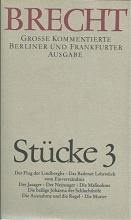 Brecht, Bertolt Stücke 3