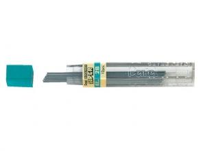 , Potloodstift Pentel 0.7mm zwart per koker 2B
