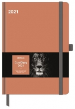 , Agenda 2021 cool diary 16x22 caramel
