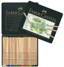 Fc-112124 , Faber-castell pastelpotloden fc pitt 24 st