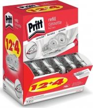 , Correctierollervulling Pritt 4.2mmx12m flex doos à 12+4 gratis