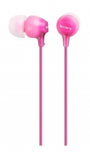 , Oortelefoon Sony EX15LP basic roze