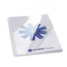 , Voorblad GBC A4 PVC 200micron transparant 100stuks