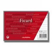 , Systeemkaarten 100x150mm lijn + rode koplijn