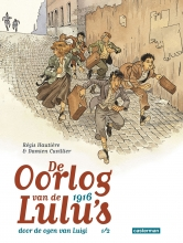 Damien,Cuvillier/ Hautiere,,Regis Oorlog van de Lulu`s Spin-off 01