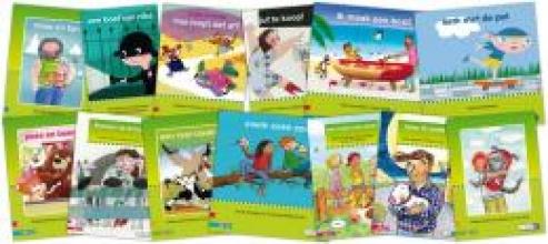 , Pakket leesboeken kim-versie kern 4 (13 titels)