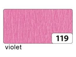 ,Crepepapier folia 250x50cm nr 119 roze