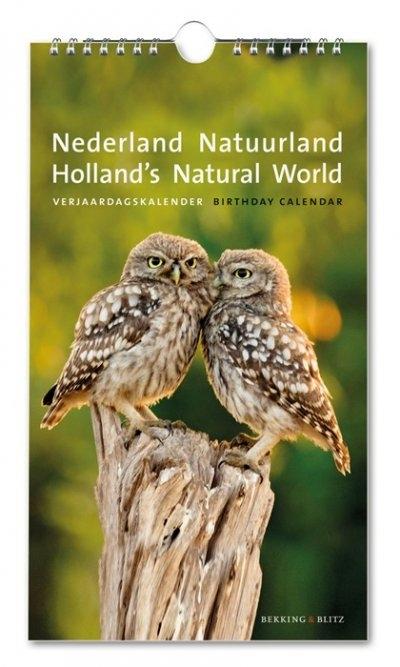 Bc144,Verjaardagskalender nederland natuurland