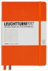 <b>Lt347170</b>,Leuchtturm notitieboek master slim a4 blanco oranje
