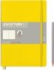 Lt355289 , Leuchtturm notitieboek composition softcover 178x254 mm dots/puntjes lemon geel